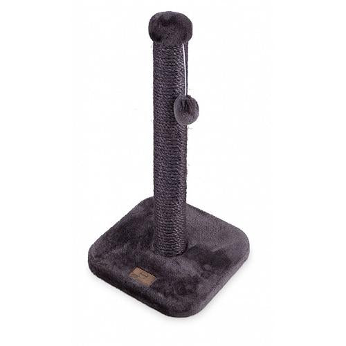 Kazoo Scratching Post Charcoal Small.