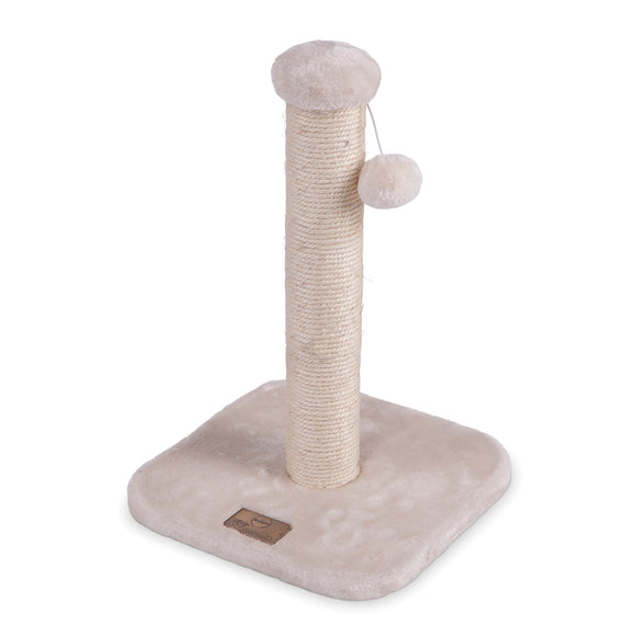Kazoo Scratching Post Cream.Small.