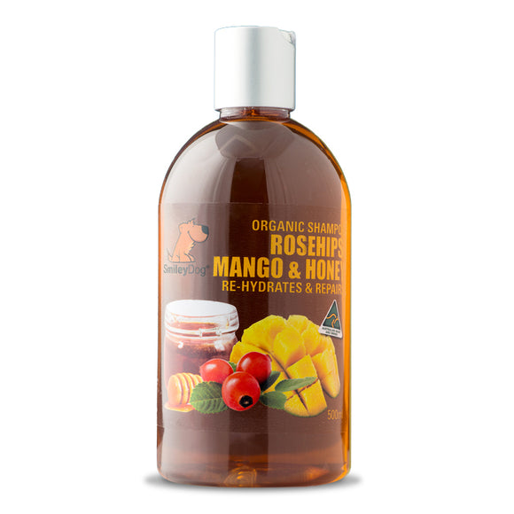 SmileyDog-Rosehips, Mango & Honey - Re-Hydrates & Repairs 500ml.