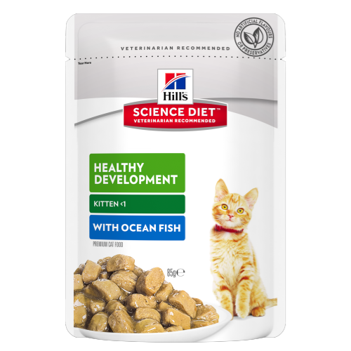 Hills-Kitten-Healthy-Development-With-Ocean-Fish-Tender-Chunks-Gravy-Pouch,85g