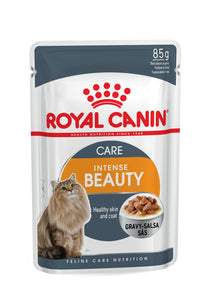 Royal Canin-Intense Beauty-Gravy-12 x 85g Pouches.