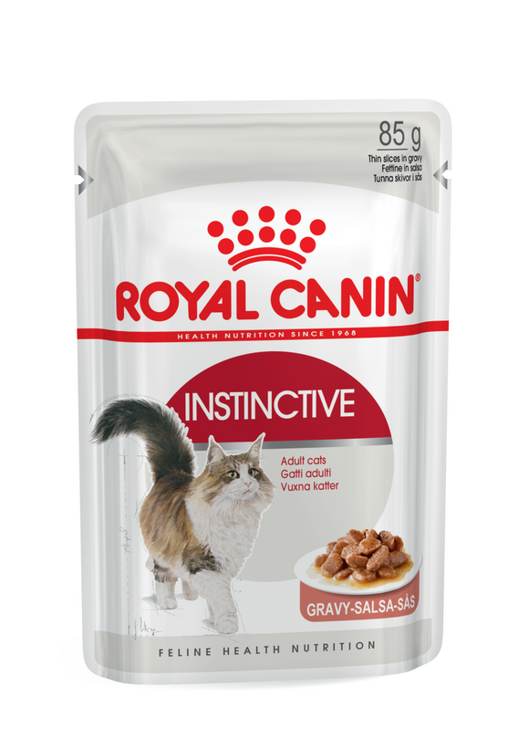 Royal Canin-Instinctive-Gravy-12 x 85g Pouches.