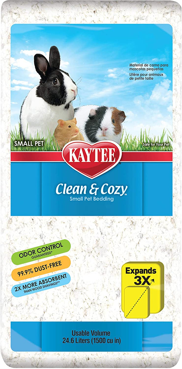 Kaytee Clean & Cozy Small Pet Bedding.