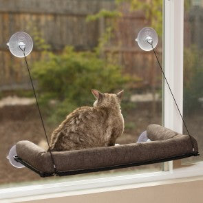 K&H Kitty Sill Deluxe With Bolster.