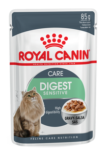 Royal Canin-Digest Sensitive-Gravy-12 x 85g Pouches.