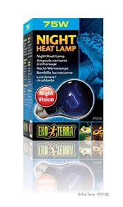 Exo Terra Night Heat Lamp 75W.