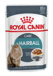 Royal Canin-Hairball-Gravy-12 x 85g Pouches.