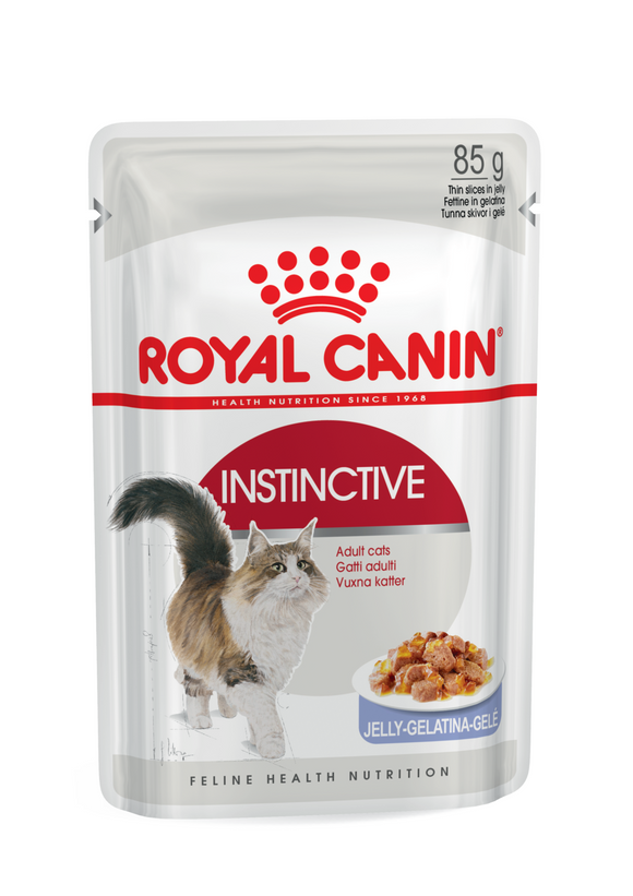 Royal Canin-Instinctive-Jelly-12 x 85g Pouches.