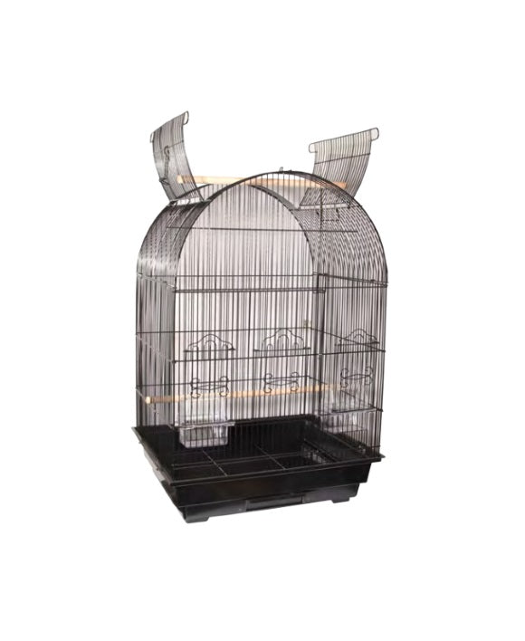 AviOne Bird Cage 450A-OP Black.