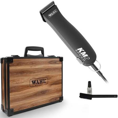 Wahl KM2 Clippers with Bonus Case.