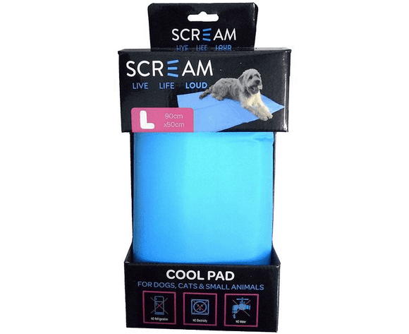 Scream Cool Pad Large Blue.