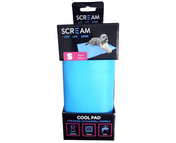 Scream Cool Pad Small Blue.