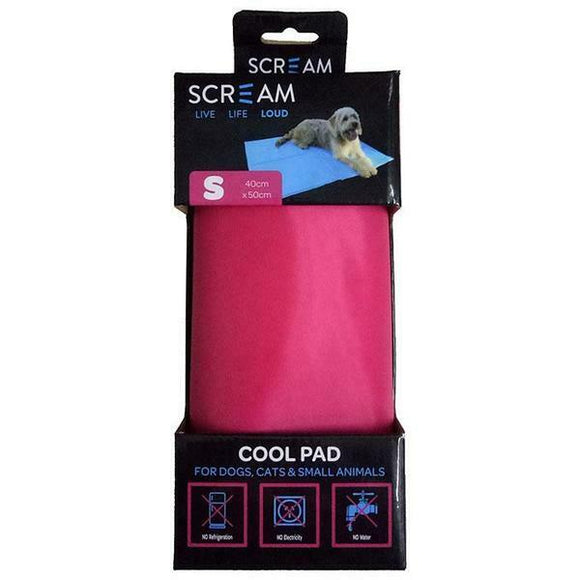 Scream Cool Pad Small Pink.