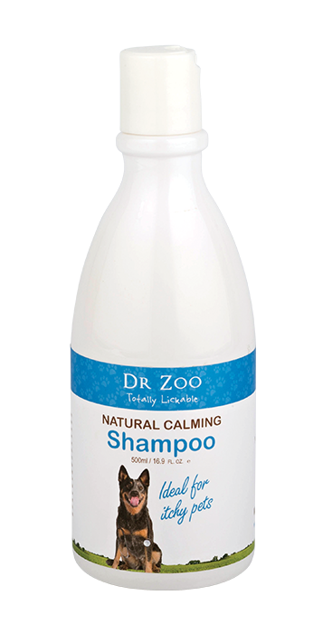 Dr Zoo Natural Calming Shampoo 500ml.