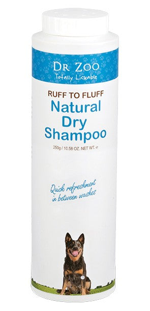 Dr Zoo Natural Dry Shampoo 250g.