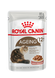 Royal Canin-Ageing +12-Gravy-12 x 85g Pouches.