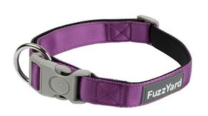 Fuzzyard Grape Collar.