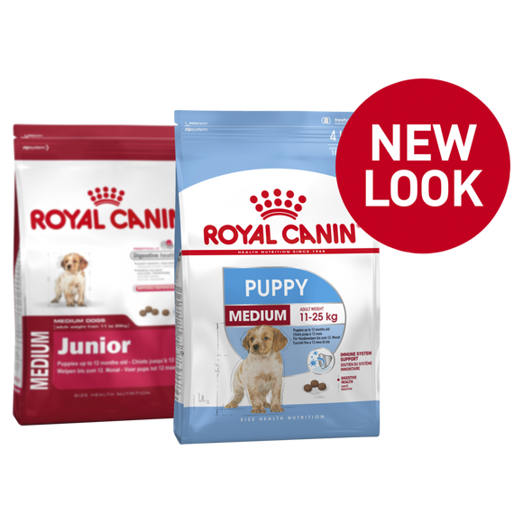 Royal Canin Medium Puppy 4kg.