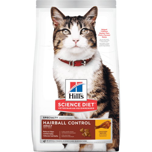Hills Adult Hairball Control 4kg.