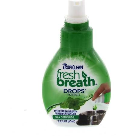 Tropiclean Fresh Breath Drops 65ml.