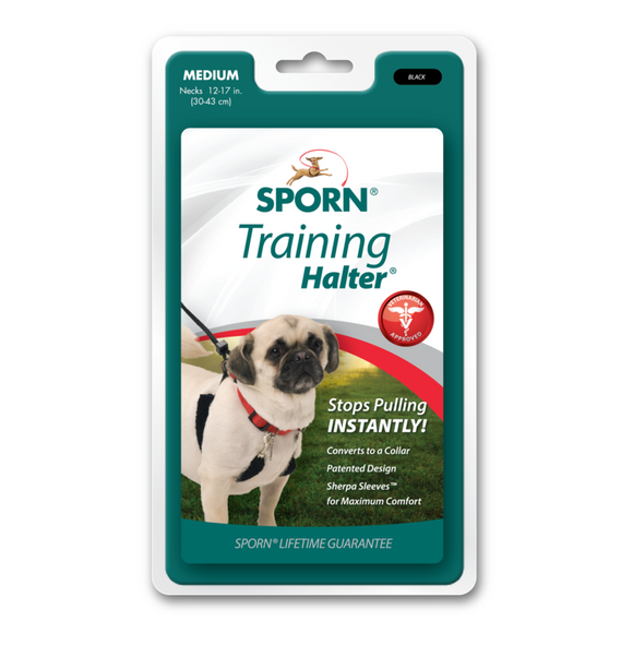 Sporn Training Halter Medium.