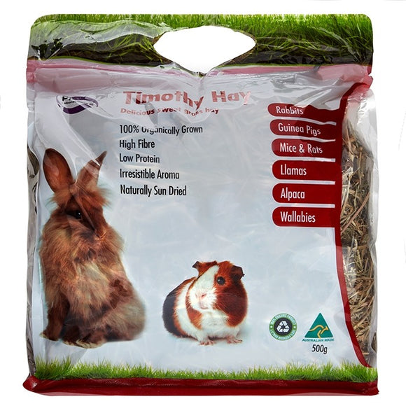 Pisces Timothy Hay 500g.