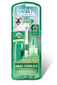 Tropiclean Fresh Breath Oral Care Kit 59ml.