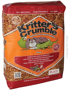 Kritters Crumble Fine 20L.