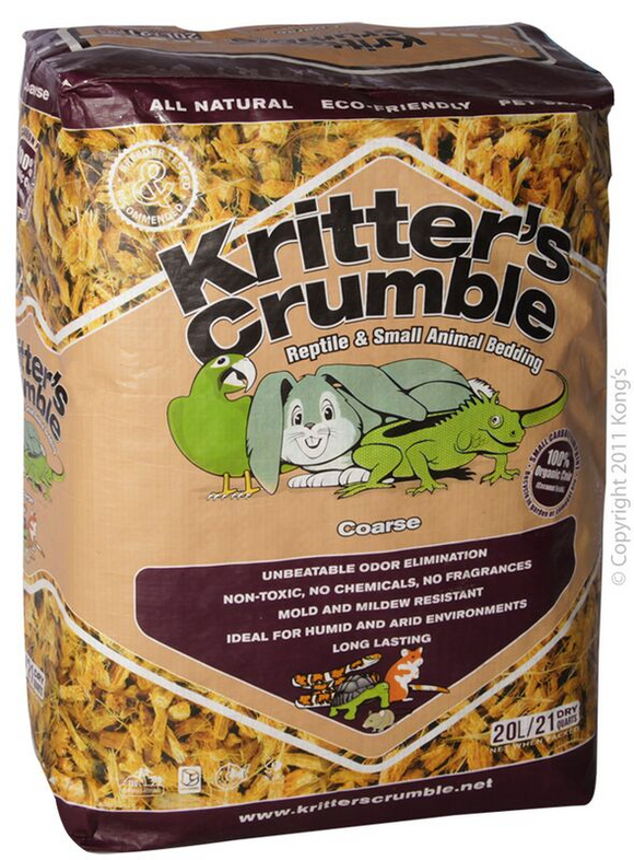 Kritters Crumble Coarse 20L.