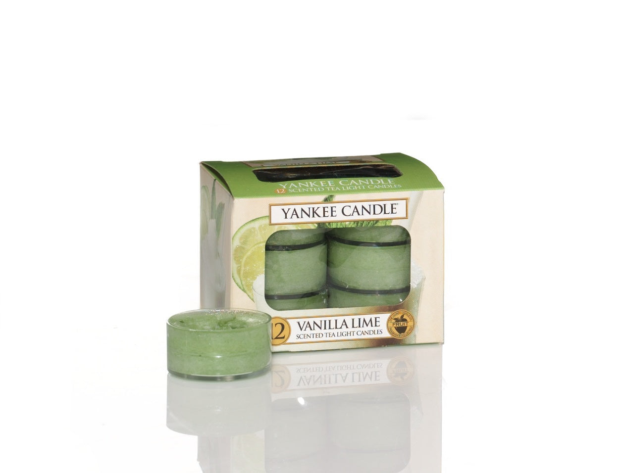 VANILLA LIME -Yankee Candle- Tea Light