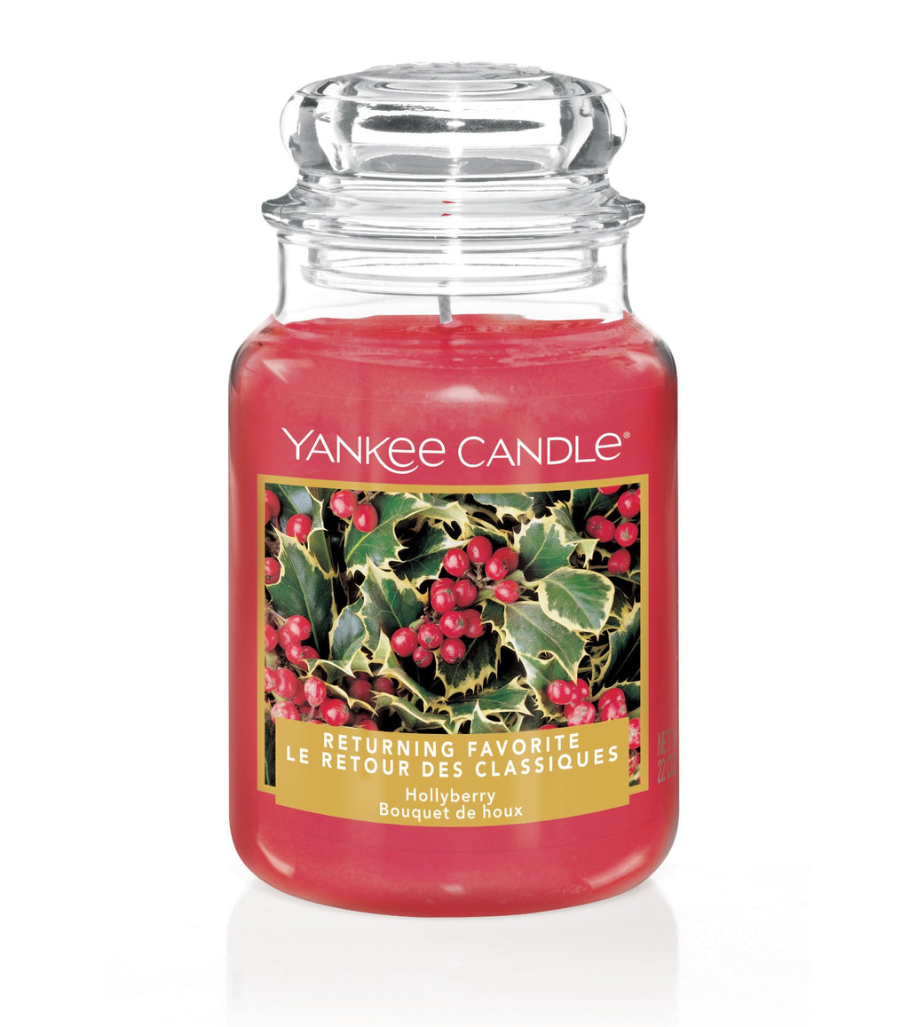 HOLLYBERRY -Yankee Candle- Giara Grande