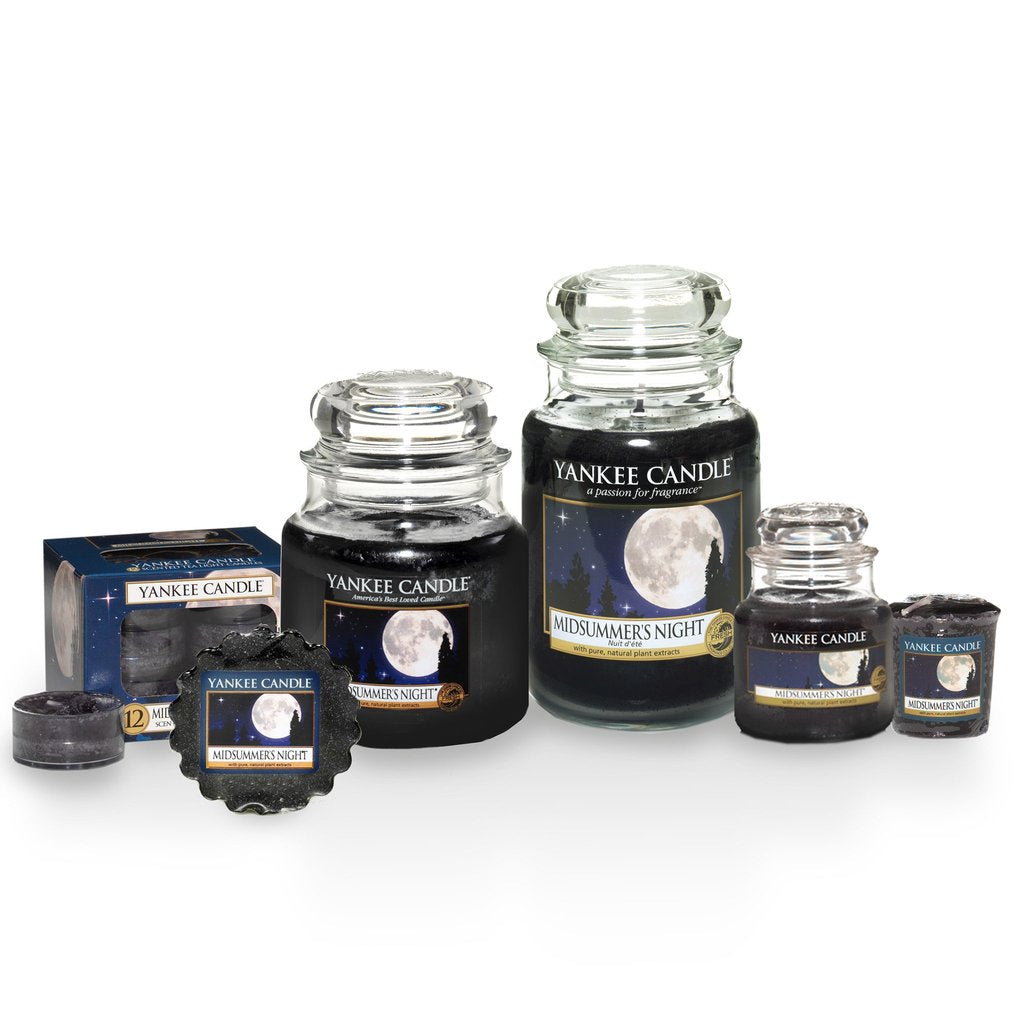 MIDSUMMER'S NIGHT -Yankee Candle- Charming Scents Kit Iniziale Square