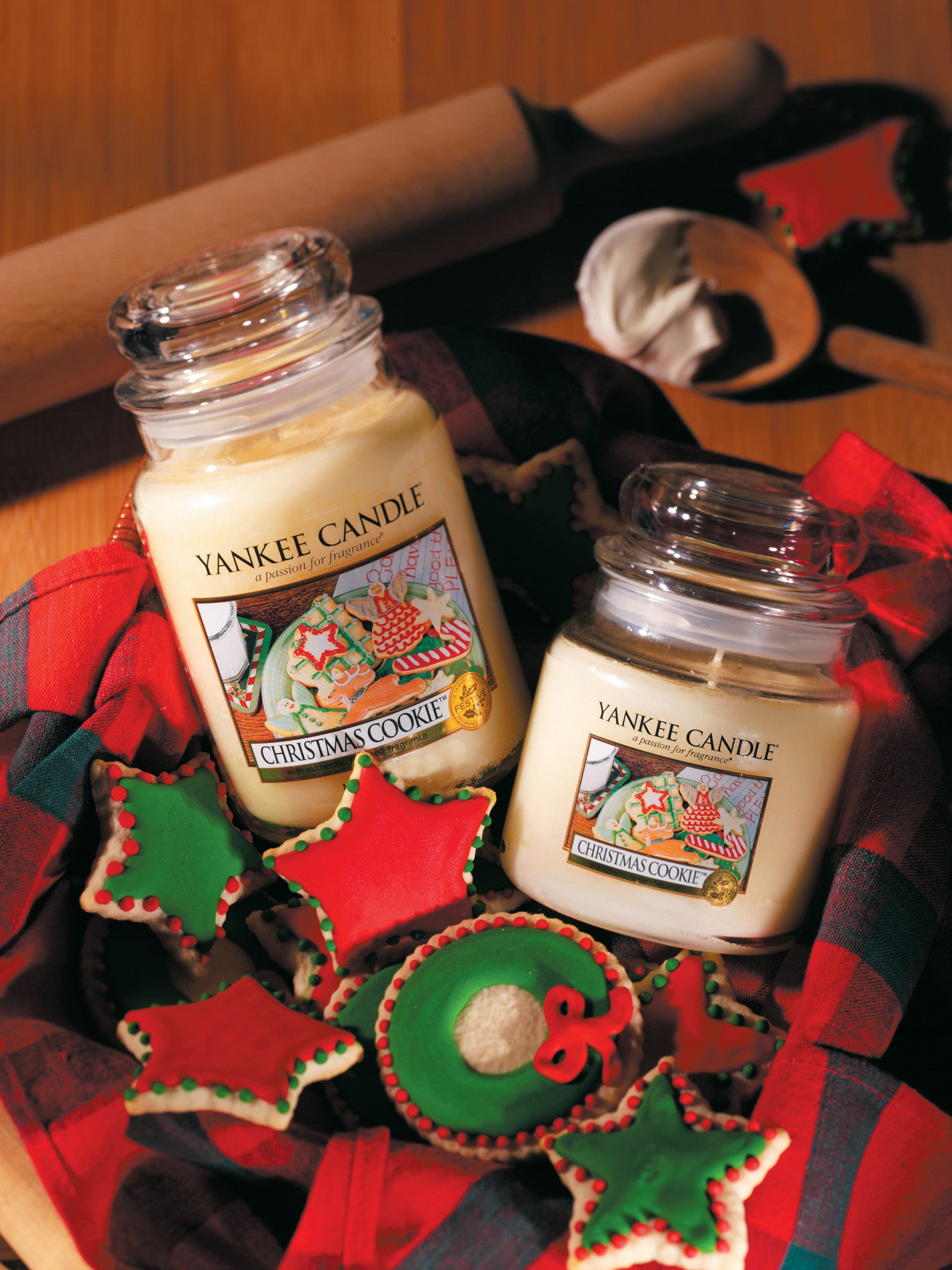 CHRISTMAS COOKIE -Yankee Candle- Candela Sampler