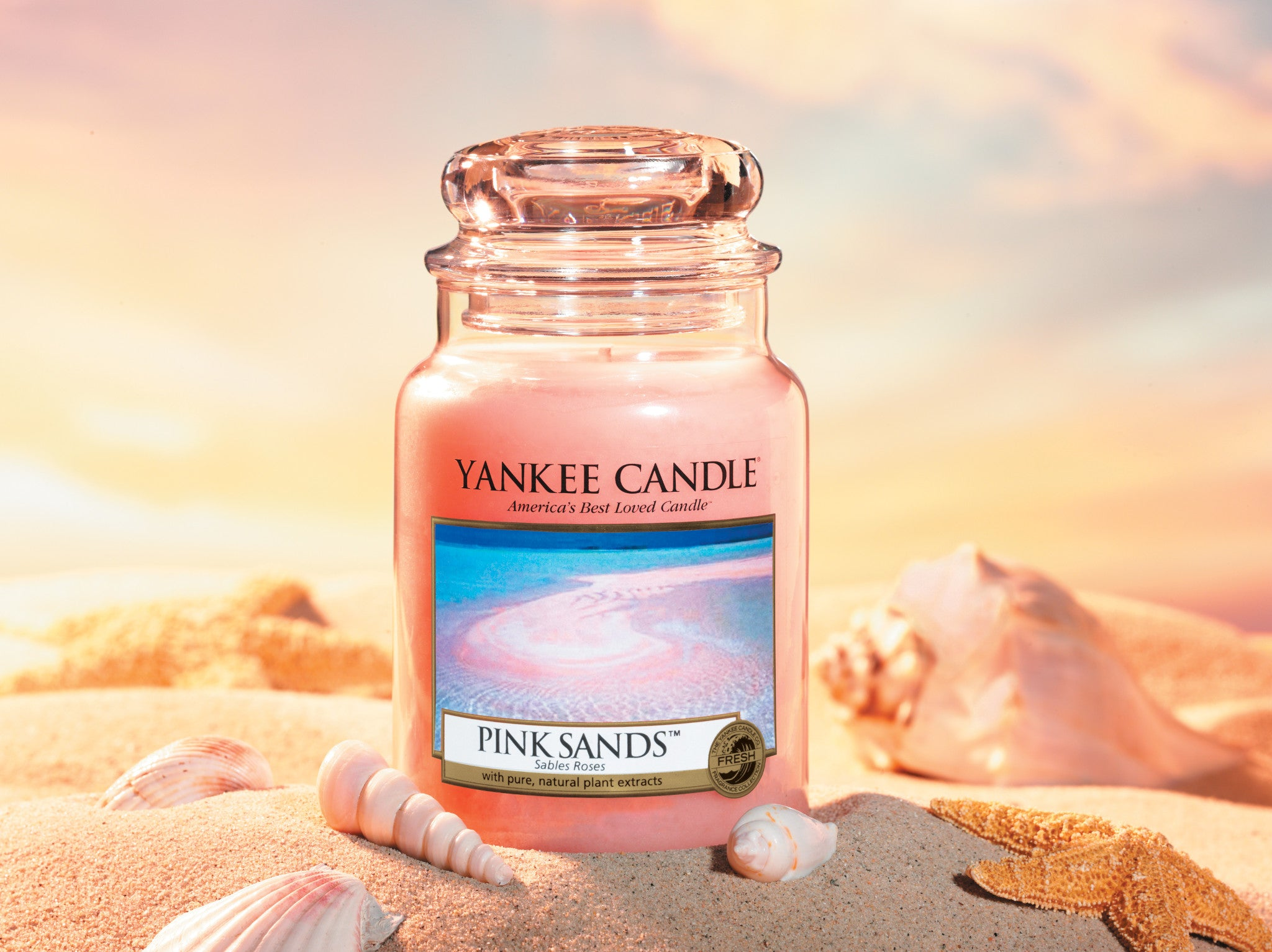 PINK SANDS -Yankee Candle- Tart