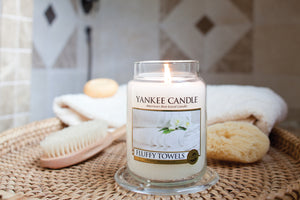 FLUFFY TOWELS -Yankee Candle- Tea Light