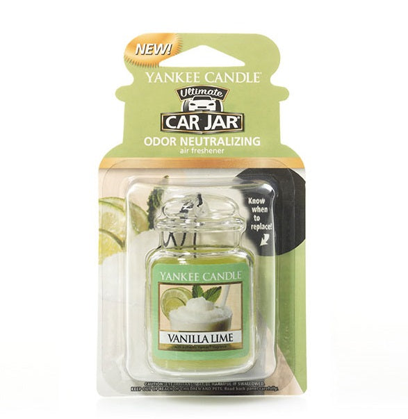 VANILLA LIME -Yankee Candle- Car Jar Ultimate