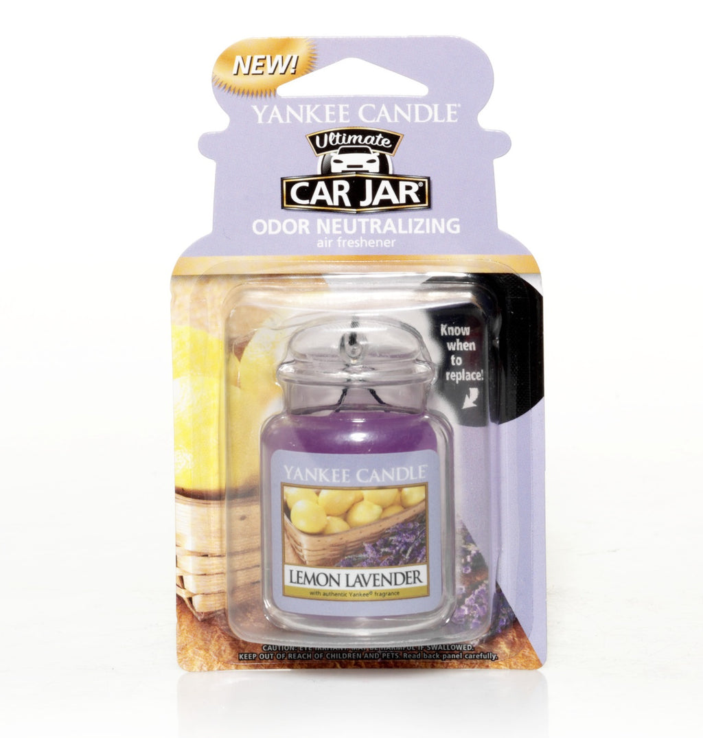 LEMON LAVENDER -Yankee Candle- Car Jar Ultimate