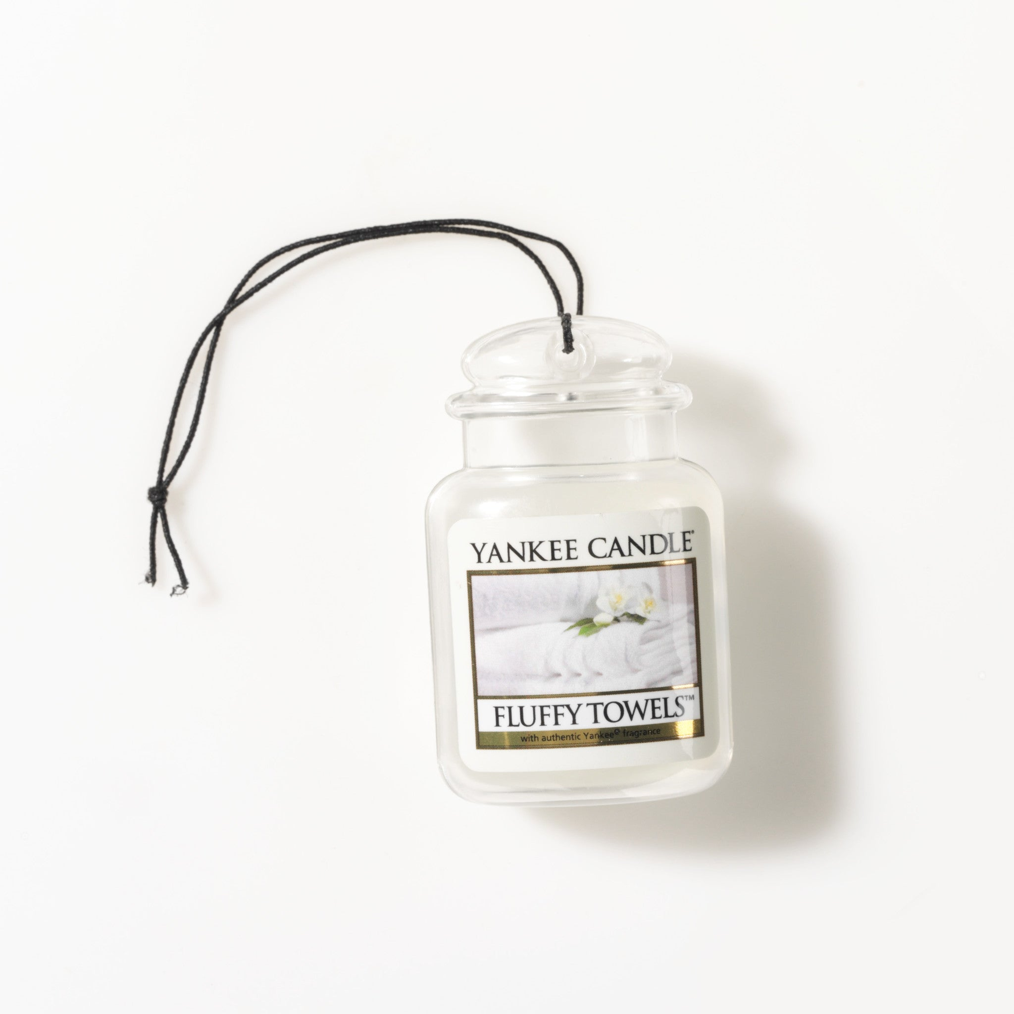 FLUFFY TOWELS -Yankee Candle- Car Jar Ultimate