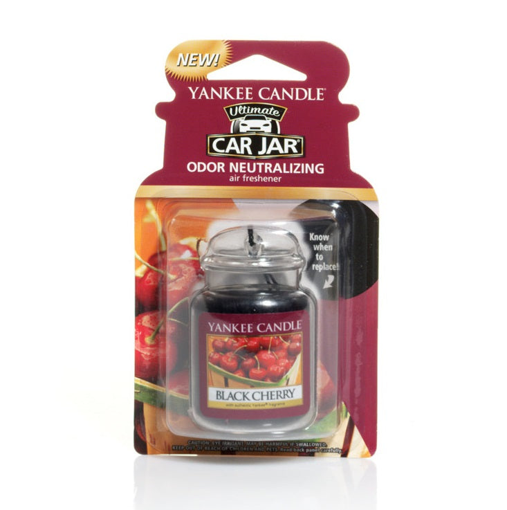 BLACK CHERRY -Yankee Candle- Car Jar Ultimate