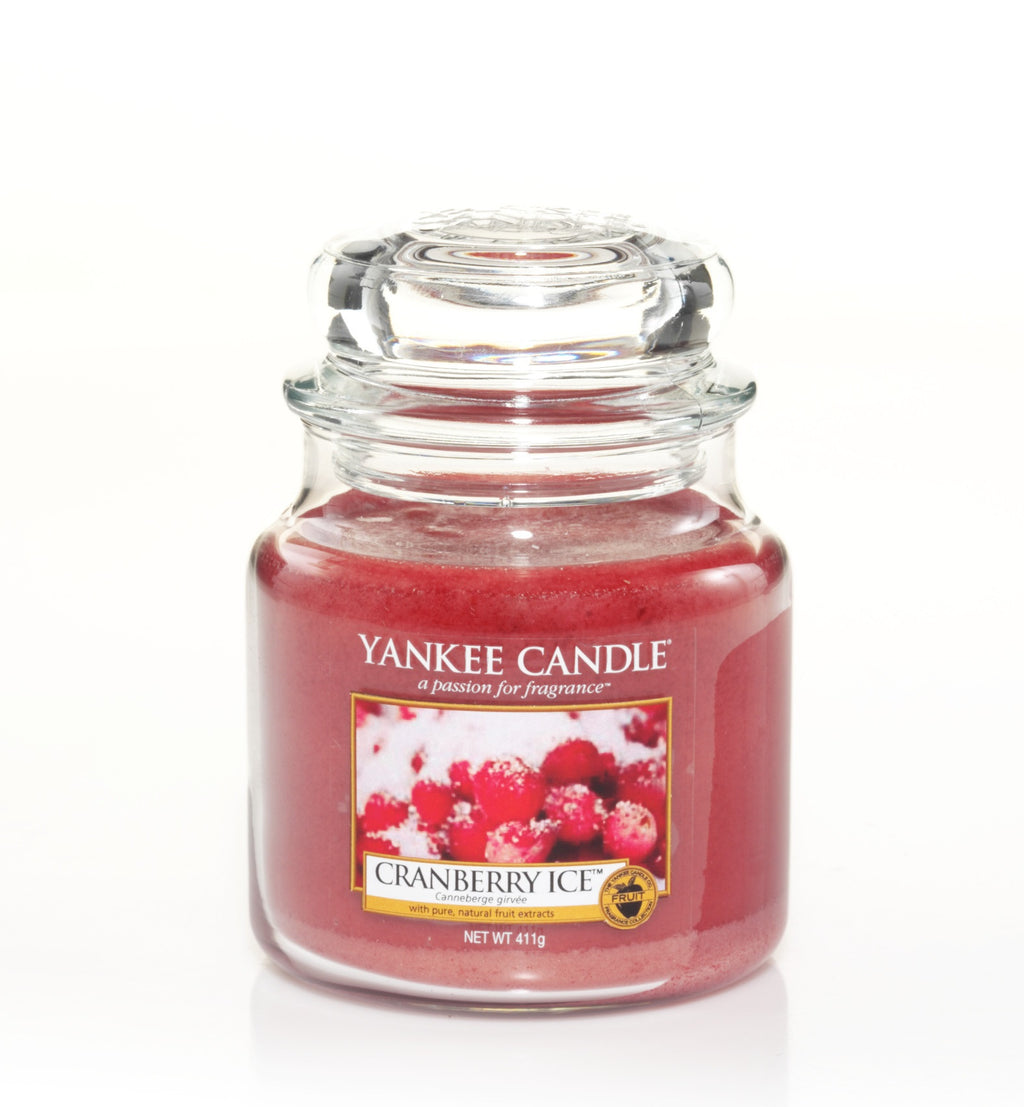 CRANBERRY ICE -Yankee Candle- Giara Media