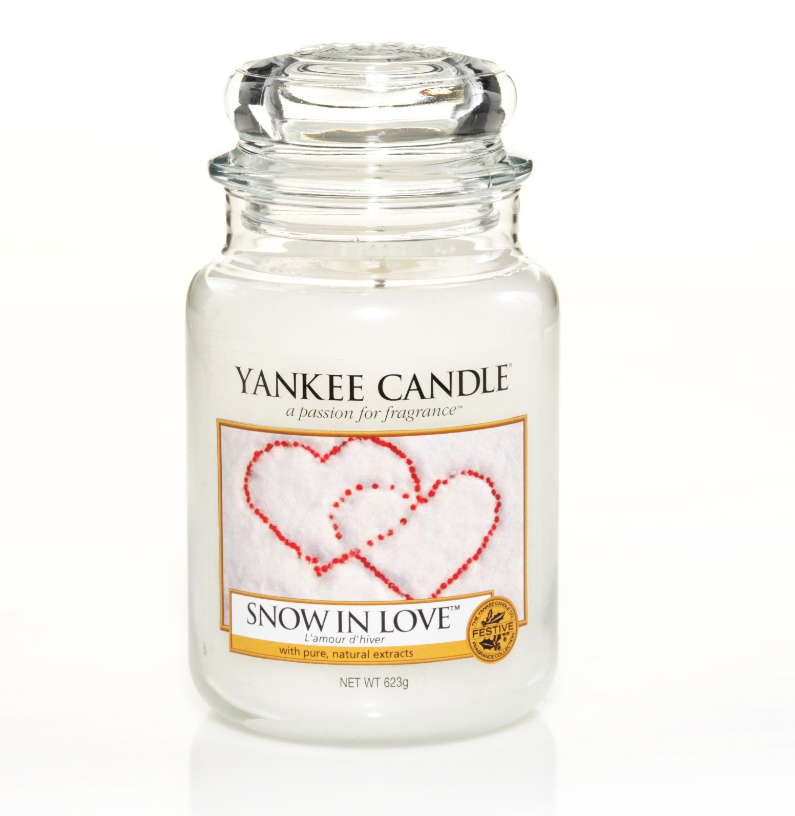 SNOW IN LOVE -Yankee Candle- Giara Grande