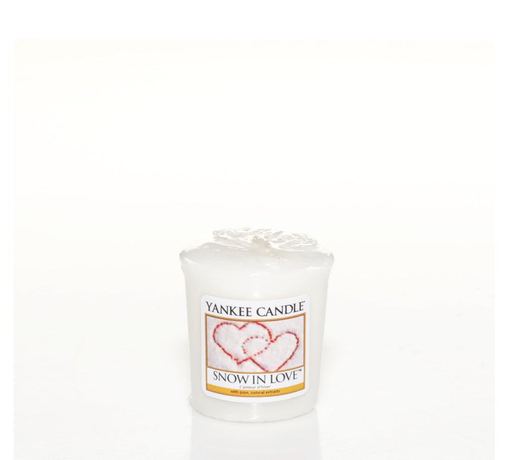 SNOW IN LOVE -Yankee Candle- Candela Sampler