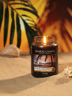 BLACK COCONUT -Yankee Candle- Giara Media