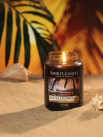 BLACK COCONUT -Yankee Candle- Tart