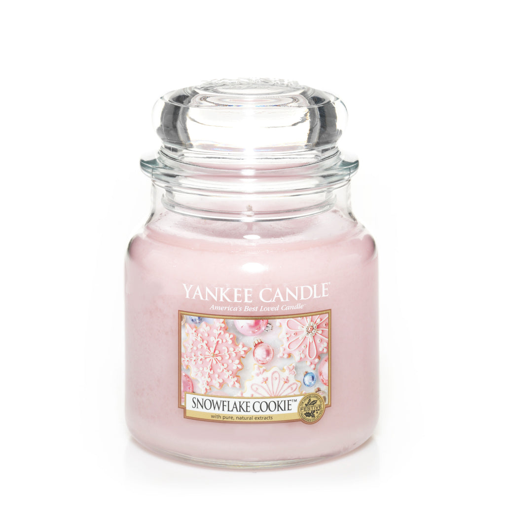 SNOWFLAKE COOKIE -Yankee Candle- Giara Media