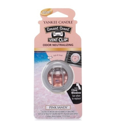 PINK SANDS -Yankee Candle- Smart Scent Vent Clip