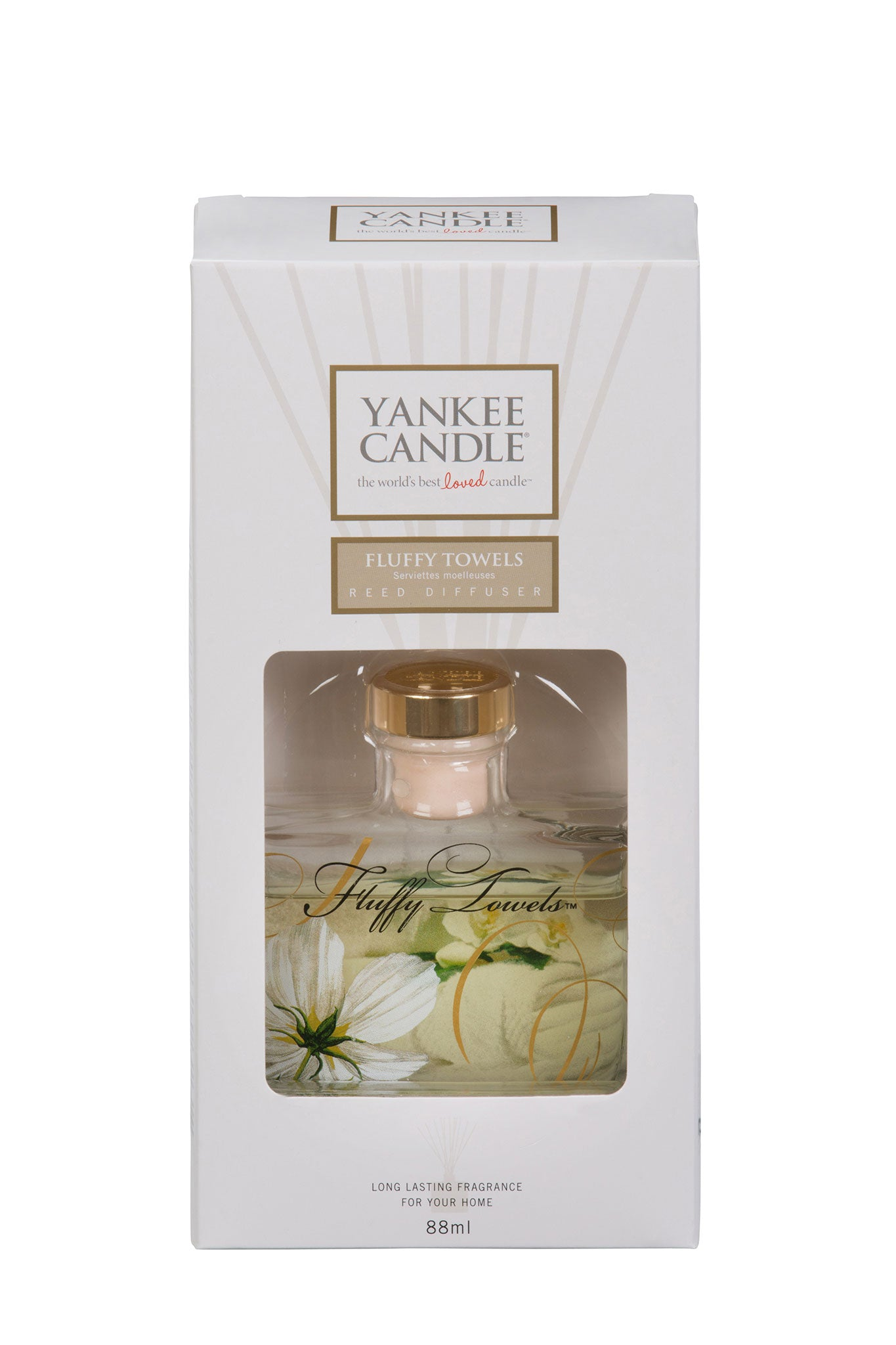 FLUFFY TOWEL -Yankee Candle- Reed Diffuser