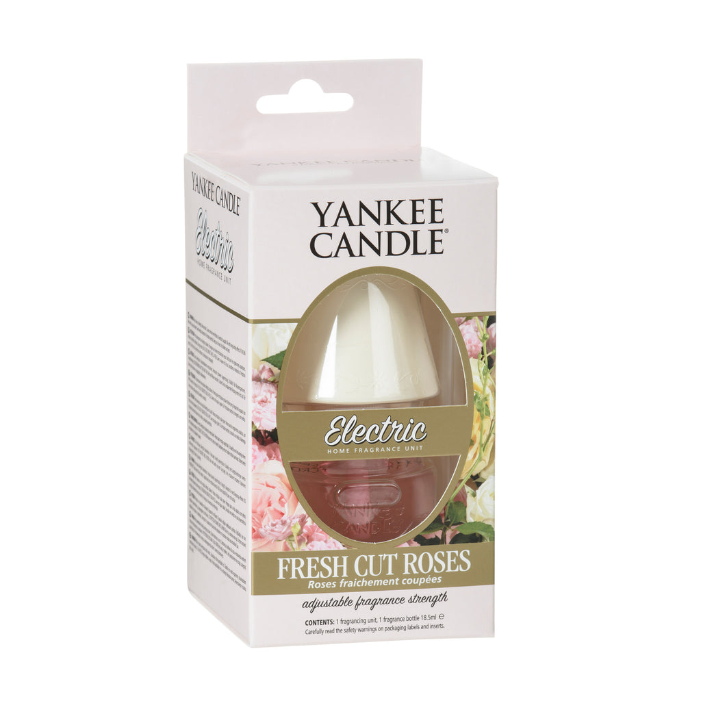FRESH CUT ROSES -Yankee Candle- Diffusore Elettrico Scent Plugs