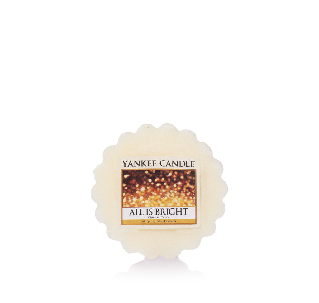 ALL IS BRIGHT -Yankee Candle- Tart