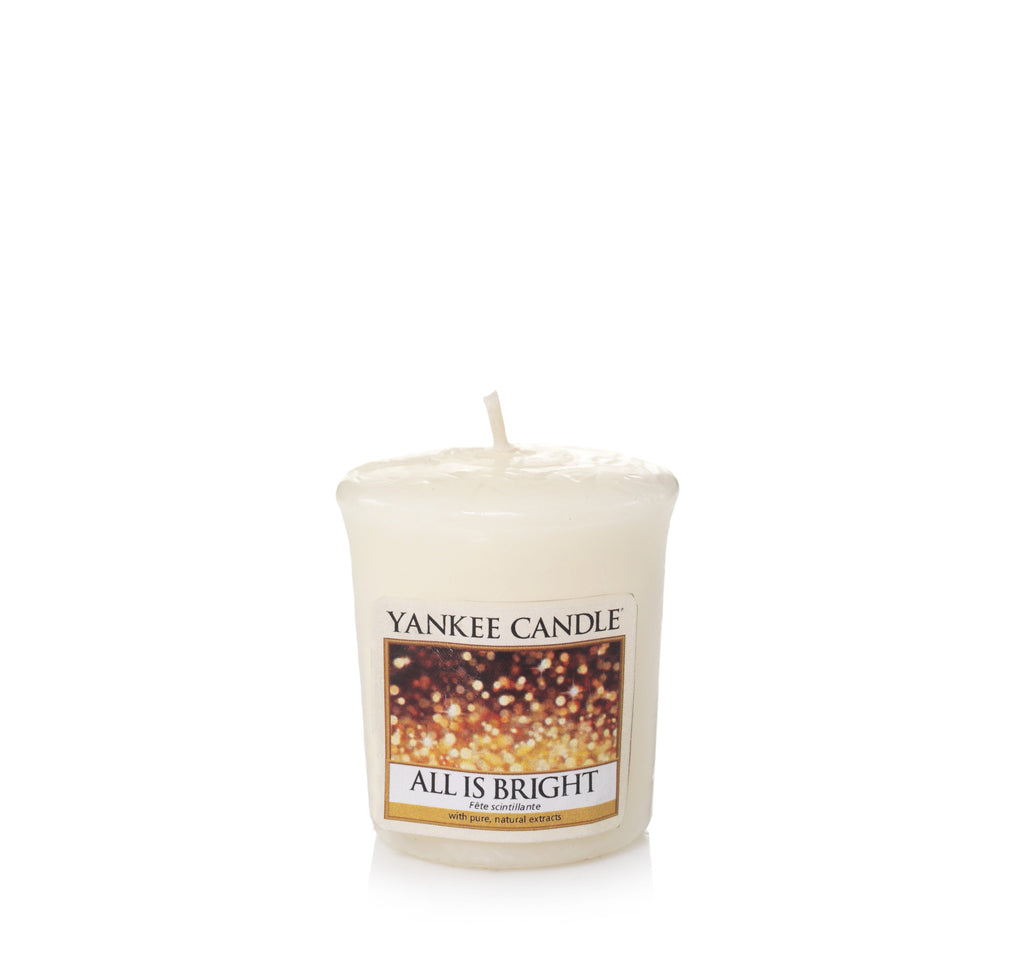 ALL IS BRIGHT -Yankee Candle- Candela Sampler